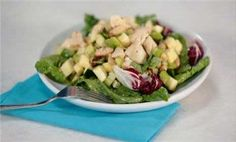 Chicken and white bean salad. Healthy Recipes, Healthy Eating, Healthy Cooking | Eating Well
