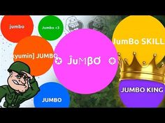 JUMBO ARMY DOMINATING AGARIO | Agar.io - YouTube