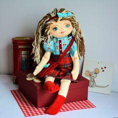 Lala ręcznie malowana - Basia - 50 cm #clothdoll, #doll #handmade #stuffed #toy @pracownia.malykoziolek #handpainted Harajuku, Princess Zelda, Dolls, Fictional Characters, Baby Dolls, Puppet, Doll, Fantasy Characters, Baby