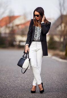 ¡Hola chicas! Hoy quiero contarles sobre una combinación clásica y muy fácil de lograr, se trata del blanco y negro. Es ideal para l...