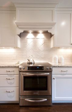 Custom Vent Hood Design Ideas, Pictures, Remodel, and Decor - page 5 Dining Area, Kitchen Dining, Kitchen Cabinets, Kitchen Appliances, Kitchen Vent Hood, Exhaust Hood, Kitchen Designs, Kitchen Ideas, Kitchens