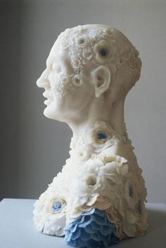 totally beautiful and totally disturbing ... WAX SCULPTURE BY REBECCA STEVENSON