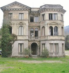 Abandoned. Unfortunately, some have been left abandoned. Stresa, located on Lake Maggiore in the Piedmont region of Italy.