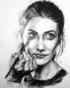 #drawing #artwork #art #portrait #sketch #sketchbook