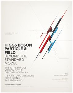 BOSON HIGGS by Metric72, via Behance
