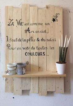 7 deco ideas to have fun with blackboard paint Blackboard Paint, Chalkboard, Memo Writing, Blackboards, Positive Attitude, Home Staging, Diy And Crafts, Sweet Home, Blog