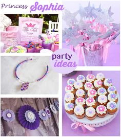 Sophia the First Party Ideas - Very cute.