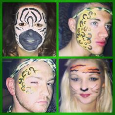 Zoo project face and body painting by Fays Painting