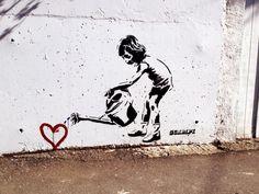 Street art in Wellington, New Zealand