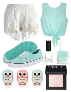 """""""Untitled #69"""" by eggcup123 ❤ liked on Polyvore featuring Chicwish, Vans, Ally Fashion, Forever 21, NARS Cosmetics and Diego Dalla Palma"""