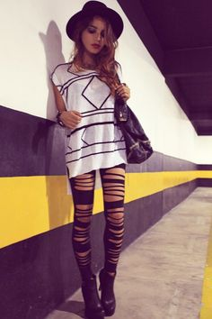 #rock #style #women #Fashion