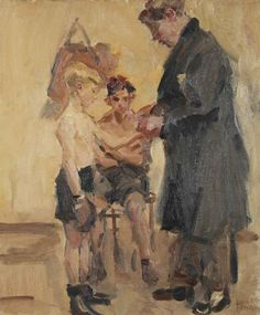 isaac_israels_the_boxing_lesson_d5677678g.jpg (846×1024)
