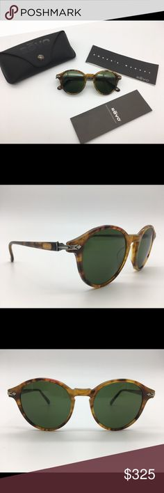 REVO Travelers Vintage Sunglasses New Old Stock Never Worn Vintage REVO Sunglasses from the Travelers Collection mod # 985/009 These are in original mint condition Never Worn New Old Stock. Complete in case with paperwork These Plastic Frames measure 135mm from temple to temple with 45x45mm lenses. The frames are a beautiful translucent Yellow Tortoise Shell with Spring Loaded arms. The gold Revo Logo is on the outside of both arms. On the inside right arm is 985/009 FRAME HONG KONG The Revo…