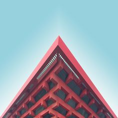 Shapes of Iconic Chinas Architecture Kris Provoost is a Belgian architect who worked through China and he chose to document the architecture of the country. He photographed in a minimalist way the iconic building from Shanghai to Beijing including Shenzhen. #xemtvhay