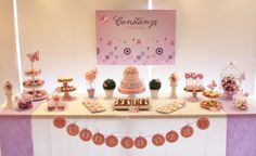 Butterfly Sweet Table by Violeta Glace