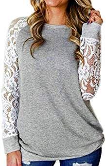 ba5755c7aa212 DAY8 Femme Vetement Sport t Shirt Ete Blouse Femme Chic Soiree Haut Femme  Grande Taille Printemps