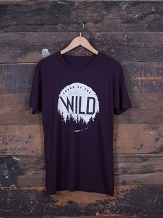 Sound Of The Wild graphic T-Shirt - hand screen-printed on ethically made Bamboo / Organic Cotton blend t-shirt by Franz Jeitz for The Level Collective
