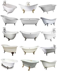 Maybe do a clawfoot tub if it will fit the style/age of the house? Are they big enough to be a nice soaker tub?