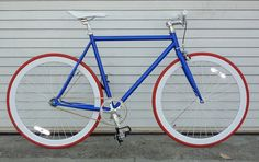 Echo 2.0 which features red rims with white spokes and red tires