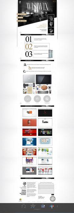 Chic wisiwix.com  Web design