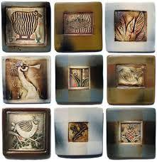June Otis (East Jordan MI) - clay tiles