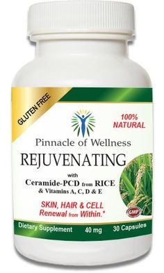 Rejuvenating Skin Care - Simple Natural Anti-wrinkle Anti-aging Product with the Best Gluten Free Phytoceramides from Rice for Smoother Healthier and Younger Skin, Nails and Hair - Goodbye Dry Skin! - 60-day Complete Satisfaction Money Back Guarantee Pinnacle of Wellness,http://www.amazon.com/dp/B00I60FXU8/ref=cm_sw_r_pi_dp_uIpdtb17WKD04AQC