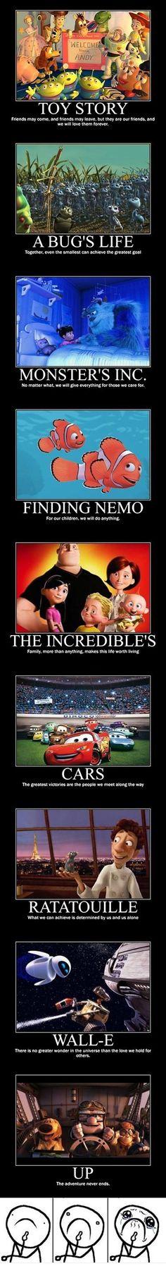 Things Pixar Taught Me