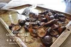 Roasted Garlic and Herb Mushroom Medley