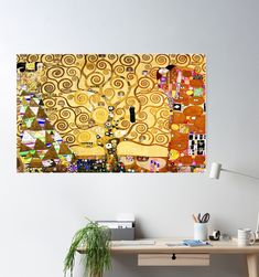 Shop yours at my @redbubble store today! Price from $13.10 #klimt #art #poster #painting #artist #famouspaintings #posters #homedecor #findyourthing #findyourthing #gift #redbubble Klimt Art, Gustav Klimt, Gaming Posters, Nerd Gifts, Yoga Gifts, Canvas Prints, Art Prints, Mother And Father, Tree Of Life