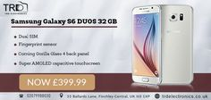 TRD Electronics now introducing the new ‪Samsung Galaxy S6 Duos 32GB at best price on Winter Sale, for further details please visit our store