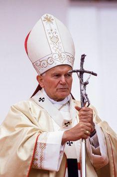 Catholic Art, Catholic Saints, Roman Catholic, Paul 2, St John Paul Ii, Saint John, Pape Jean Paul Ii, Pape Jeans, Juan Pablo Ll