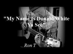 "The lyrics here are eloquent and the guitar part is really based on, is pretty much identical to as I arranged it, the traditional song ""Diamond Joe"". Ron"