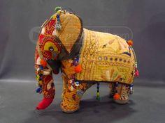 shopgoodwill.com: Vintage Hand Made Stuffed Elephant Various Colors