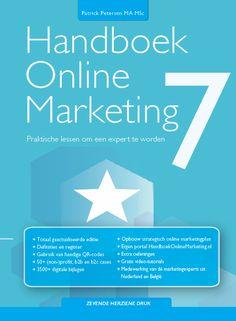 Handboek Online Marketing deel 7 cover boek Online Marketing, Management, Cases, Videos