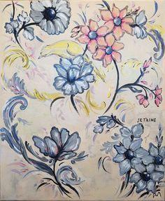 Artwork, Flower Tattoo