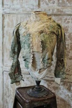 Lestat's dinner jacket. #decayed, #decadent.