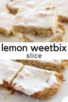 Sweet Desserts, Sweet Recipes, Cake Recipes, Dessert Recipes, Australian Recipes, Australian Food, Pumpkin Recipes Vegetarian, Weetabix Cake, Chocolate Weetbix Slice