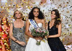 Pas de triplé pour le Nord - Pas-de-Calais cette année Miss France 2017 est Miss Guyane. Elle succède à @irismittenaeremf et @camillecerf. Photo AFP Pascal Guyot