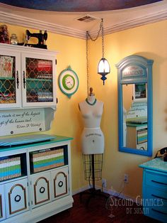 Second Chances by Susan: My Sewing Studio!