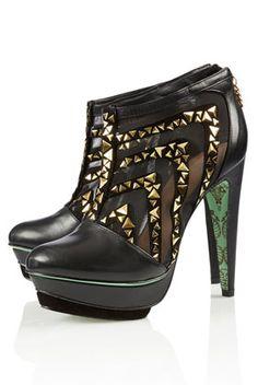 TOPSHOP**Hailstone Maze Shoe Boots by CJG