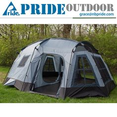 Holiday Outdoor Leisure 3 Season 16 Person Large Luxury Family Camping  Cabin Tent