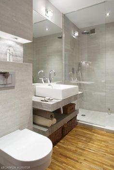 Drewno w łazience. Ładne łazienki - zdjęcia