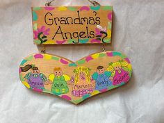 Personalized Grandmother plaque by LazyHoundWorkshop on Etsy, $20.00