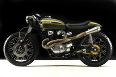 Honda CB450 Cafe Racer 1973 by Hangar Clycleworks #motorcycles #caferacer #motos | caferacerpasion.com
