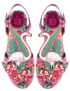 Flamingo A Go Go in Pink | Womens Shoes | Miss L Fire