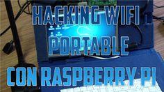 Hacking Wifi Portable con Raspberry Pi