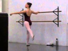 Ballet Class Degage Combination