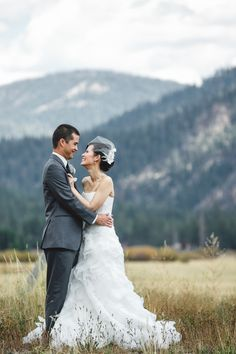 Lake Tahoe wedding in Squaw Valley from Anita Martin Photography