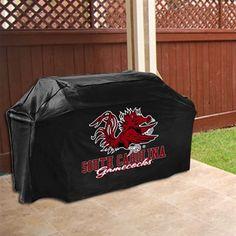 South Carolina Gamecocks Gas Grill Cover - Black