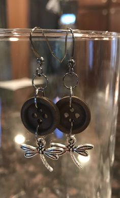 A personal favorite from my Etsy shop https://www.etsy.com/listing/515877542/dragonfly-dangle-earrings